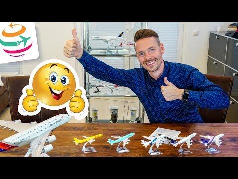 Unsere TOP 10 Flüge 2018 auf Langstrecke | GlobalTraveler.TV