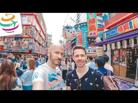 Ein Abstecher nach Osaka, zum aller ersten Mal | GlobalTraveler.TV