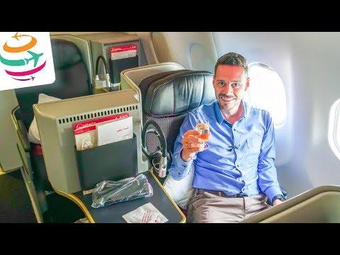 Air Berlin NEW Business Class (ENG) A330-200 | GlobalTraveler.TV