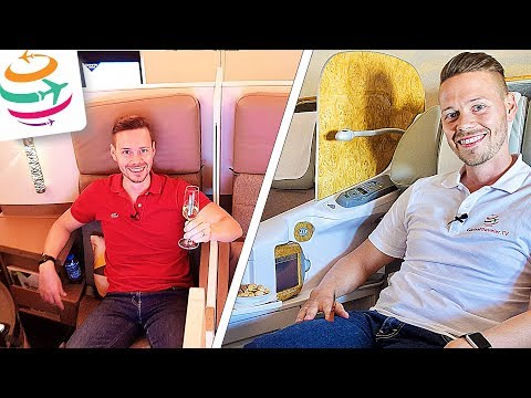 Emirates vs. Etihad Business Class | GlobalTraveler.TV