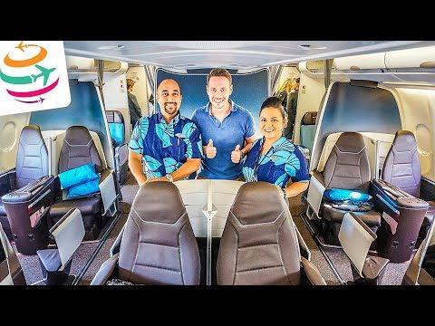 Aloha! Hawaiian First Class A330-200 | GlobalTraveler.TV