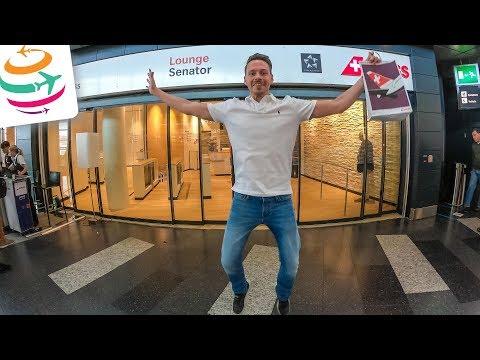 SWISS neue Lounge in Zürich und CS100 Business Class | GlobalTraveler.TV