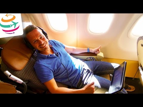 Etihad Airways A321 Business Class nach Istanbul Flugbericht Review | GlobalTraveler.TV