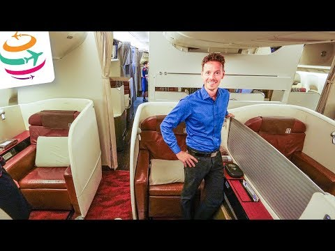 Grandios! Japan Airlines First Class 777-300ER LAX-NRT (JAL First) | GlobalTraveler.TV