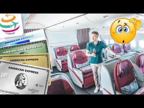 Diese Flüge gibt es für Amex Membership Rewards Punkte | GlobalTraveler.TV