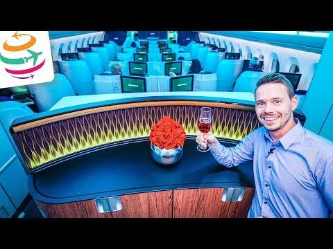 Qatar Airways Business Class A350 | GlobalTraveler.TV