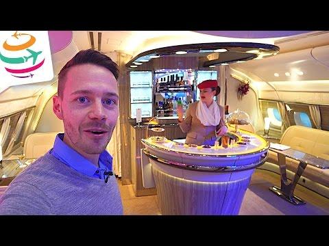Emirates neue Onboard Lounge und Business Class auf der ITB Berlin   GlobalTraveler.TV