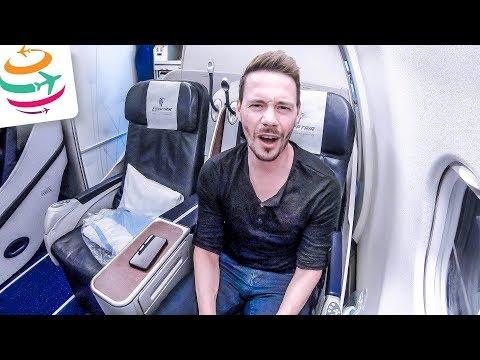 Egypt Air Business Class A330 ohne Dominik | GlobalTraveler.TV