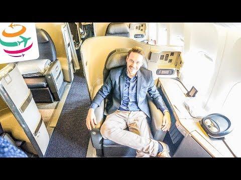American Airlines First Class 777-300ER | GlobalTraveler.TV