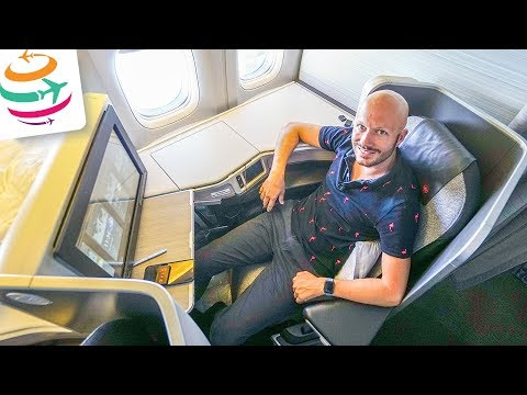 Air Canada Business Class 777-300ER YYZ-FRA | GlobalTraveler.TV