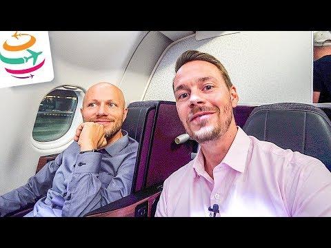 Mit Qatar nach Bangkok ins Hilton und zum Schneider VLOG | GlobalTraveler.TV