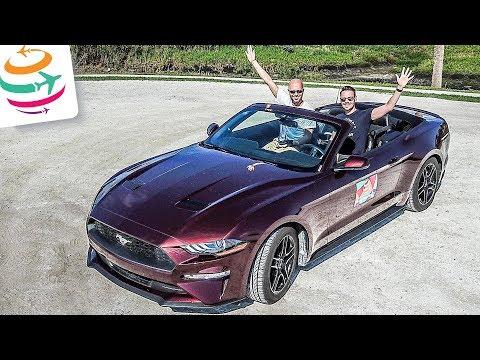 Mit Upgrade auf 300PS Mustang Cabrio starten wir in Florida | GlobalTraveler.TV