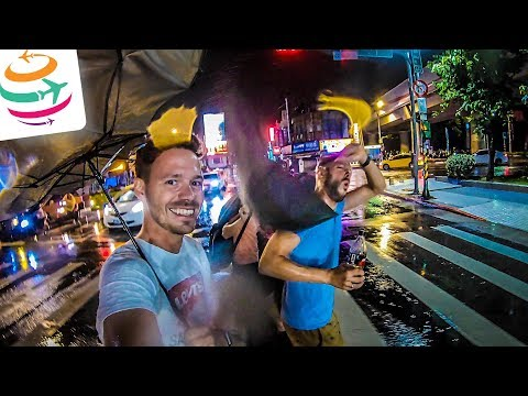Taifun in Taipeh + Frühstück Taiwan-Style + Sightseeing | GlobalTraveler.TV