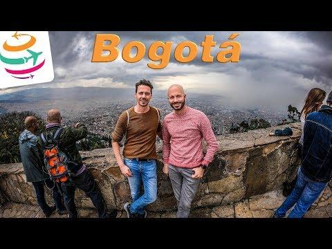 2640m über dem Meer, Bogotá in Kolumbien | GlobalTraveler.TV