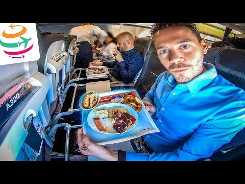 Lufthansa Business Class auf Kurzstrecke nach Frankfurt | GlobalTraveler.TV