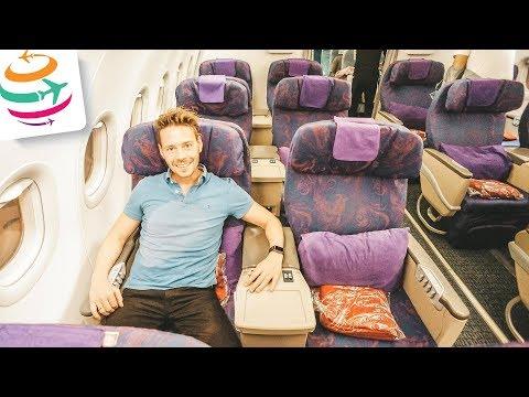 Mit Air China in Business Class in der A321 von Tokio nach Peking | GlobalTraveler.TV