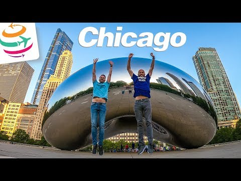 20km zu Fuß durch Chicago Vlog 1 | GlobalTraveler.TV