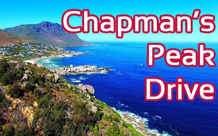 Chapman's Peak Drive Südafrika