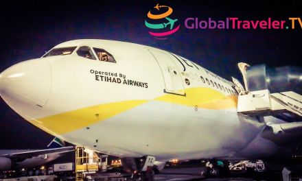 Jet Airways operated by Etihad A330-200 JNB-AUH