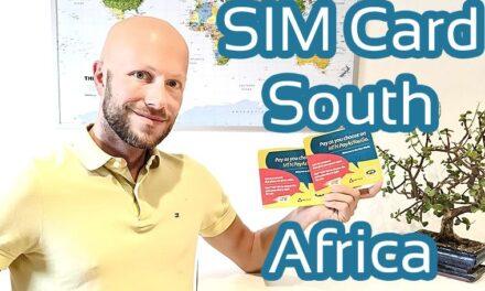 Die beste SIM Karte für mobiles Internet Südafrika