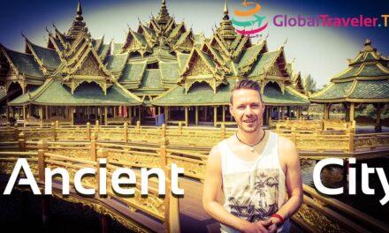 Ancient City Bangkok Thailands Kultur in Miniatur Mueang Boran