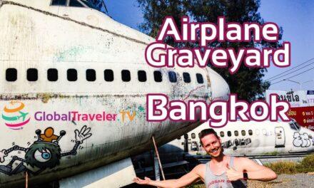 Flugzeugfriedhof Bangkok Thailand Airplane Graveyard Bangkok