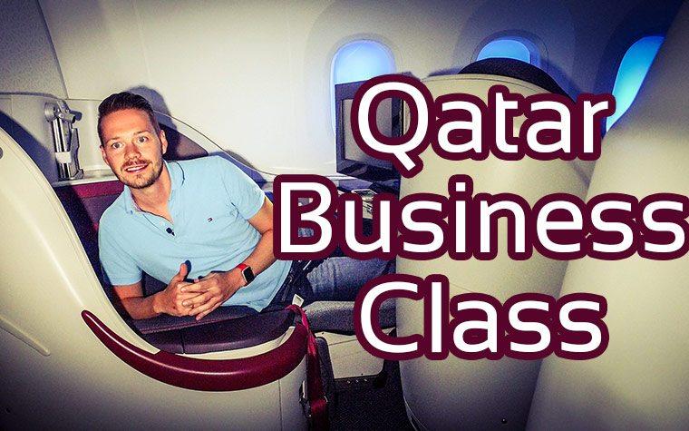 Qatar Business Class Boeing 787 Dreamliner