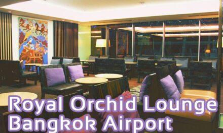 Royal Orchid Lounge Airport Bangkok