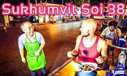 Sukhumvit Soi 38 Food Night Market Bangkok