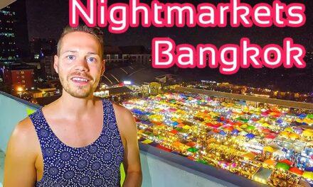 Meine TOP-Nachtmärkte in Bangkok Thailand