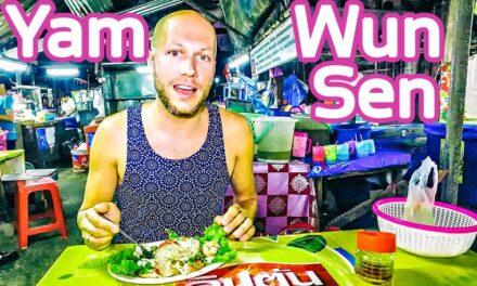 Yam Wun Sen Salad Street Food Bangkok