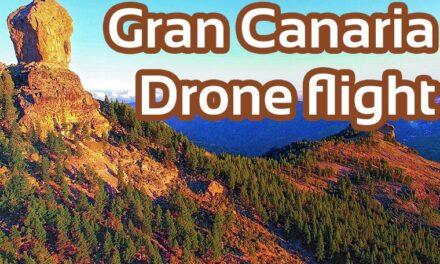 Gran Canaria von oben mit DJI Phantom3 Multikopter