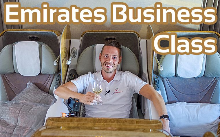 Luxury in the Sky? Emirates Business Class Boeing 777-300ER