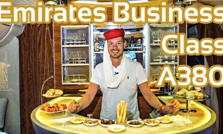Skytrax Winner 2016 Emirates Business Class A380
