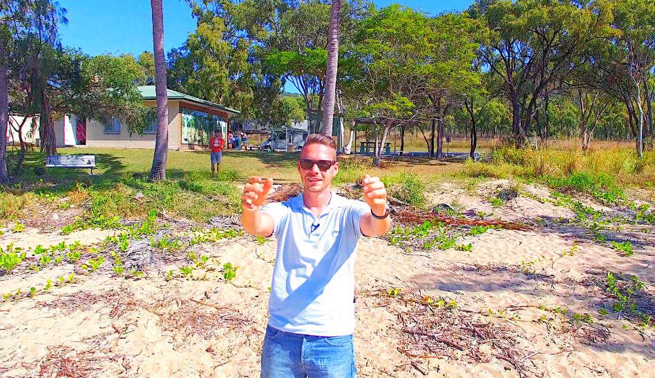Ein langer Weg von Gladstone nach Airlie Beach