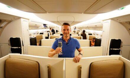 Etihad A380 Business Class Flugreport