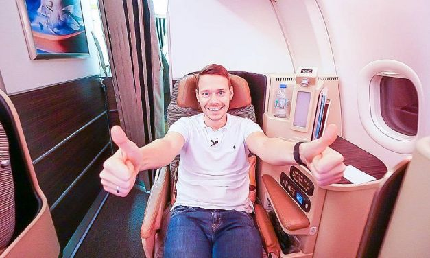 Etihad Airways Business Class A330-200 von Rom nach Abu Dhabi