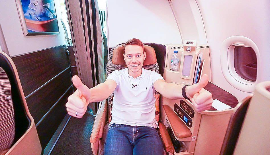 Etihad Airways Business Class A330-200 von Rom nach Abu Dhabi