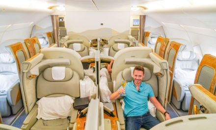 EMIRATES First Class A380 – Der pure Luxus am Himmel