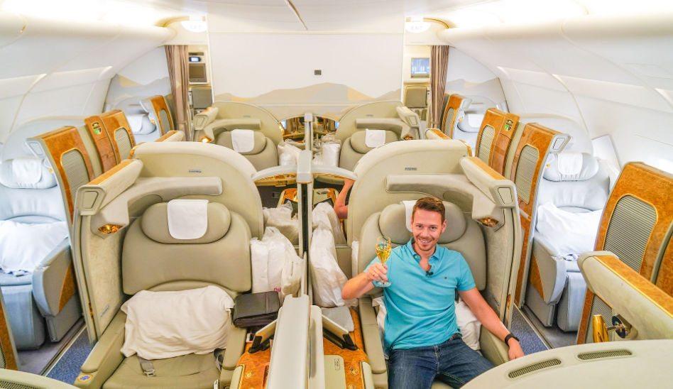 EMIRATES First Class A380 – Der pure Luxus am Himmel