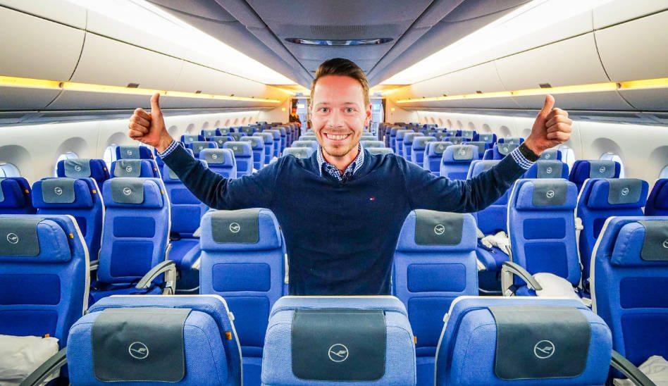 Lufthansa A350 Erstflug Sonderflug 9.2.2017 MUC HAM