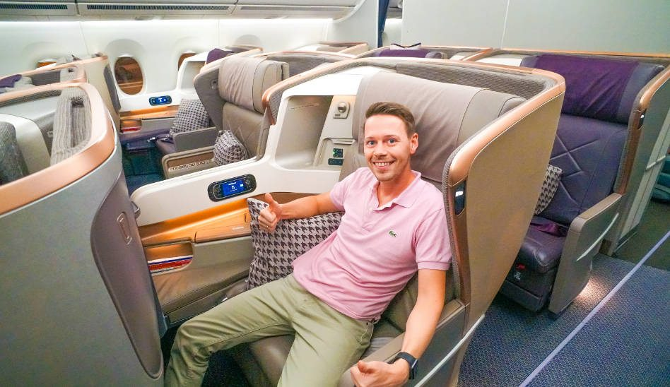 Singapore Airlines A350 Business Class
