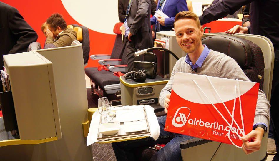 airberlin Neue Business Class auf der ITB Berlin