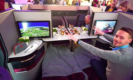 Qatar Q Suite New Business Class auf der ITB Berlin
