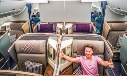 Singapore Airlines Business Class 777-300ER