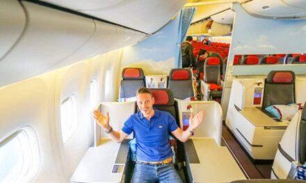 Austrian Airlines Business Class 777-200ER