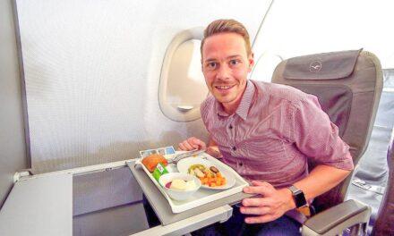 Lufthansa A319 Business Class