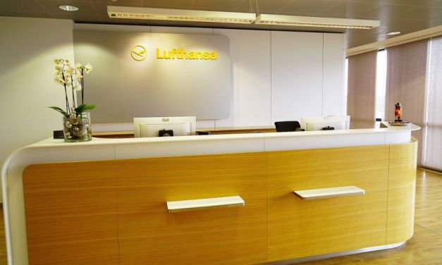 Lufthansa Business Class Lounge im Hannover Airport