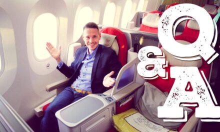 Fragen und Antworten im Flugzeug (FAQ, Q&A, Häufige Fragen)