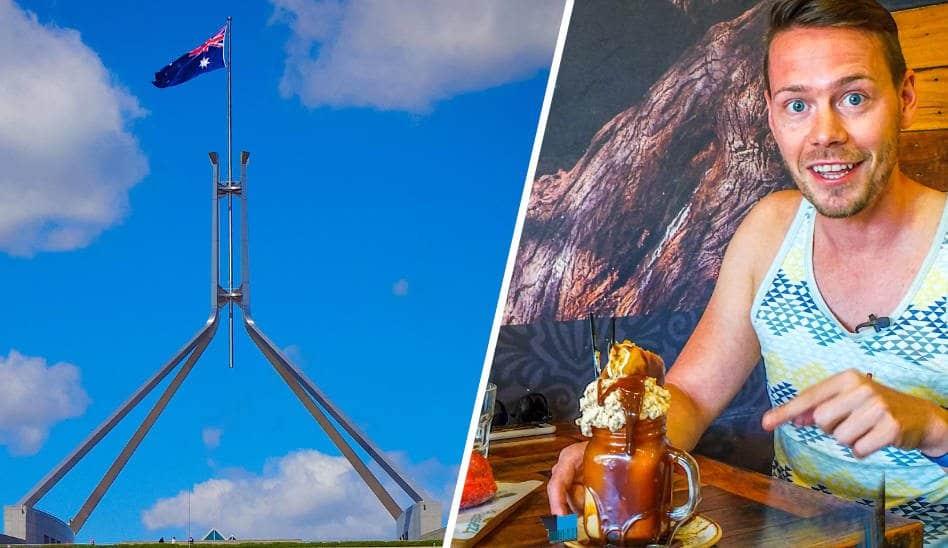 Canberra Australiens Hauptstadt erkunden